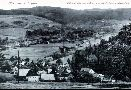 Blick von Dörfel auf Grünthal um 1920