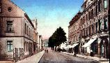 Freiberger Strasse um 1920