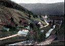 Blick auf Gabrielahütten um 1900