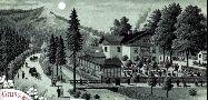 Gasthaus Böhmische Schweiz um 1880