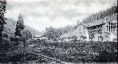 Bau der Talstraße gegenüber v. Gabrielahütten 1897